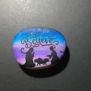 Painted Rocks-Believe