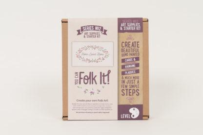 Flat brush starter kit box