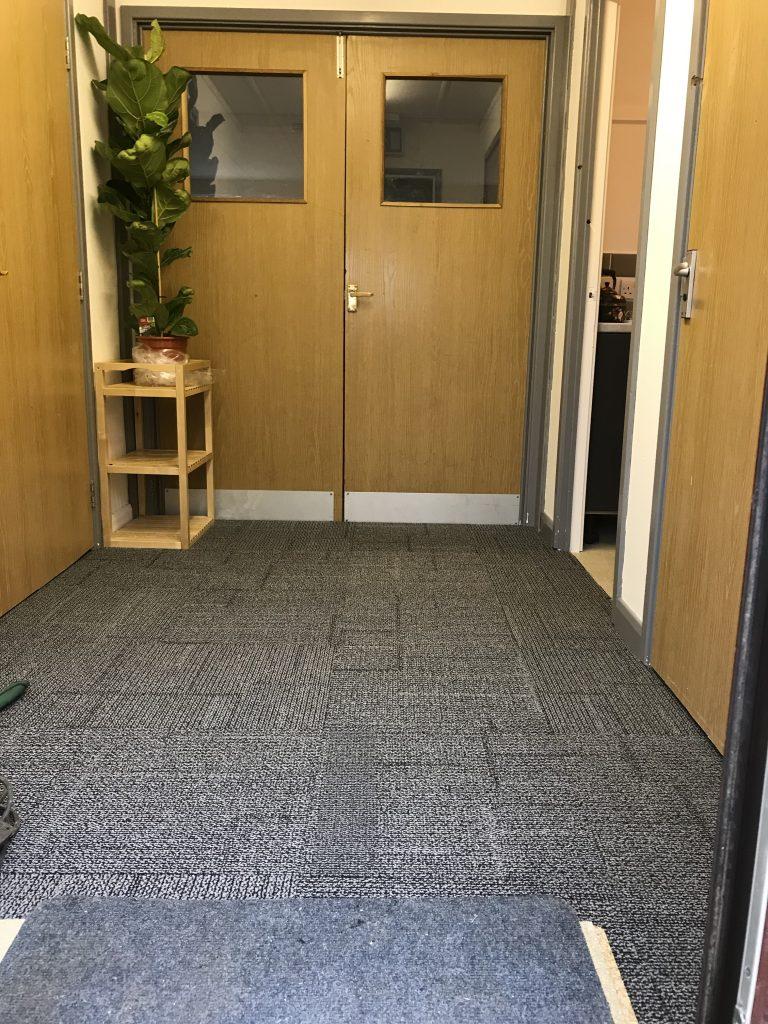 Entrance hall to studio
