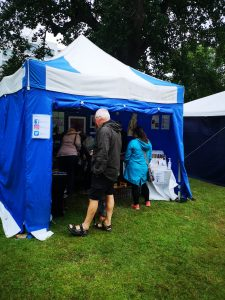 Visitors to Art in the Park